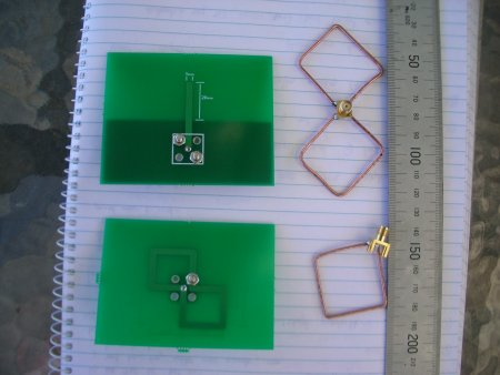 Our PCB and wire antennas