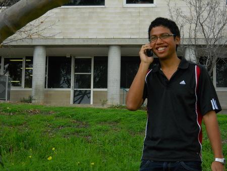 Dany testing at Flinders University