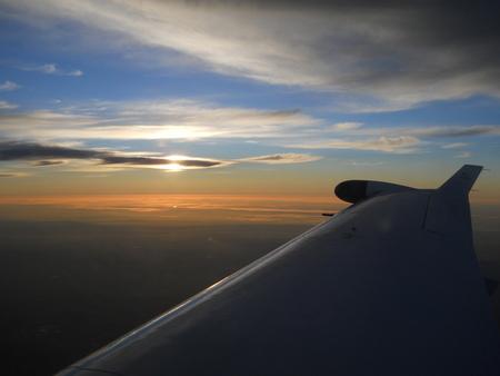 Flying to Arkaroola