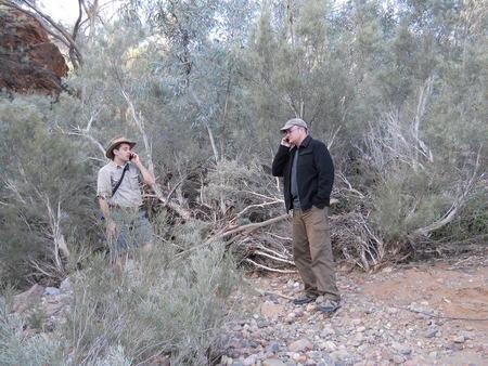 Testing in the bush