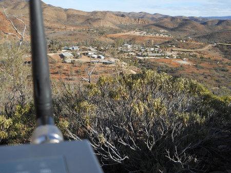 Mesh Potato overlooking Arkaroola Village